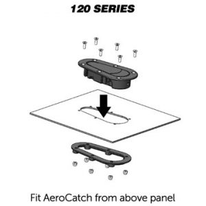 AeroCatch – 120/125 Series Shear Pin Latch (87089993)