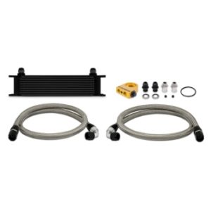 Universal – Mishimoto Oil Cooler Kit, 10 Row (87089120)