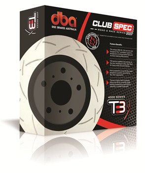 Mitsubishi Evo 4-9 – DBA T3 4000 Series Pair of Rear Brake Discs