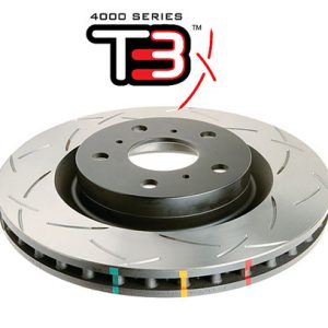 Mitsubishi Evo 10 – DBA T3 4000 Series Pair of Front Brake Discs