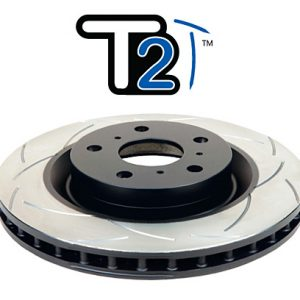 Mitsubishi Evo 4-9 – DBA T2 Street Series Pair of Front Brake Discs