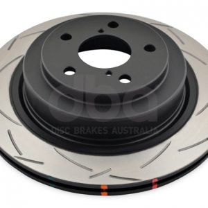 Subaru Impreza GDA – DBA T3 4000 Series Pair of Rear Brake Discs