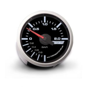 Turbosmart – Boost Gauge 0-2 BAR 52mm – 2 1/16″ (90268020)