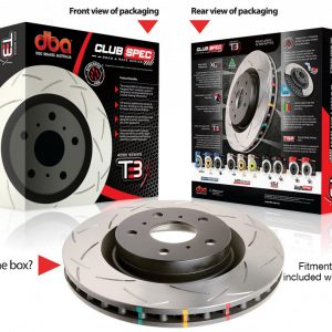 Nissan Skyline R33 / R34 GTR – DBA T3 4000 Series Pair of Front Brake Discs (87083010)
