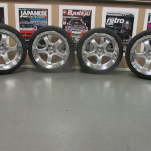 Work Meister S1 2 Piece 18″ Alloy Wheels