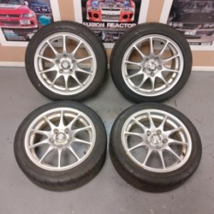 TSA 16″ Silver Alloy Wheels
