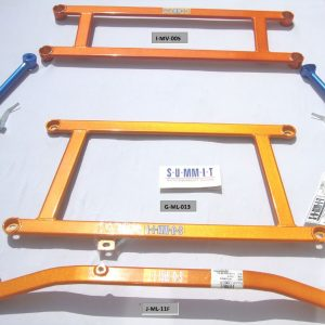 Mitsubishi Evo 7-9 – Swave & Summit Front Lower Body Chassis Brace 3 Piece Kit