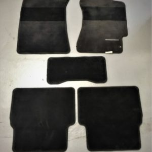 Subaru Impreza GDA/GDB – Black Interior Floor Mat Set