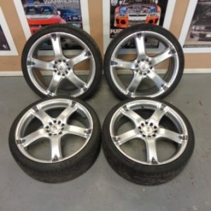 Subaru Impreza GC8 – BK Racing 18″ Alloy Wheels