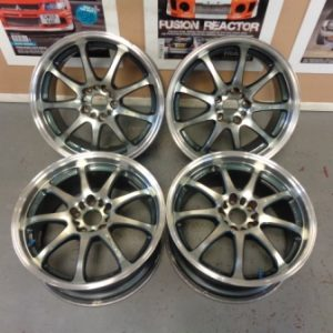 Mitsubishi Evo 4-9 – Emotion XD9 18″ Alloy Wheels