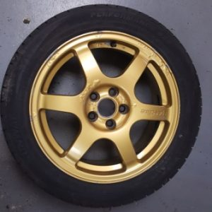 Gold Speedline Alloy Wheels | 5×100 | 16″
