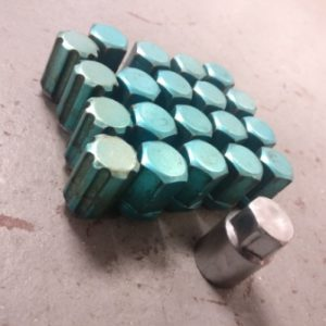 Subaru – 1.25mm Blue Lug Nuts