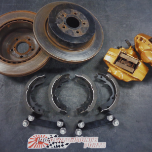 Subaru Impreza GC8 – Used Rear Brembo Conversion Kit