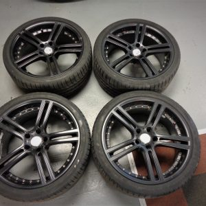 Mitsubishi Evo 10 – Team Dynamics 19″ Alloy Wheels
