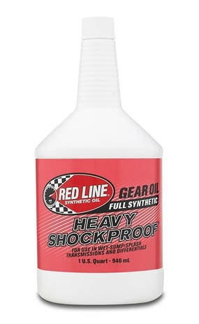 Red Line Fully Synthetic Heavy Shock Proof Gear Oil 946ml