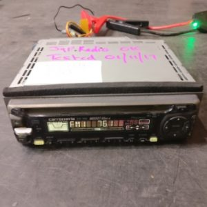 Carrozzeria DEH-1000 Single Din Head-Unit