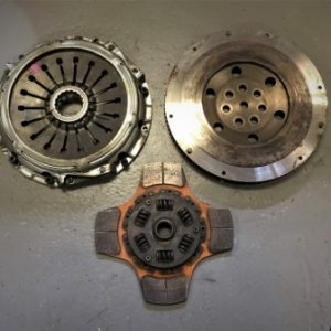 Mitsubishi Evo 7-9 – Helix 4 Puck Paddle Clutch And Flywheel