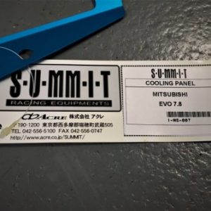 Mitsubishi Evo 7-8 – Swave and Summit Slam Panel Plate