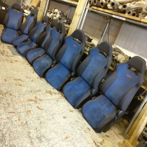 Subaru Impreza WRX STI 7/8 – OEM Seats Massive Stock Clearance! (Price For a Pair!)