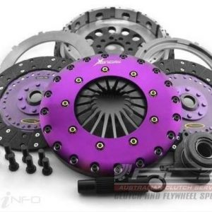 Ford Focus MK2 RS – Xtreme 230mm Organic Twin Plate Clutch Kit Incl Flywheel & CSC (87087050)