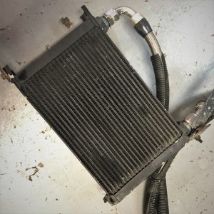 Mitsubishi Evo 6 – Aftermarket Engine Oil Cooler