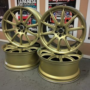 Prodrive GC-101E Gold 18″ Alloy Wheels