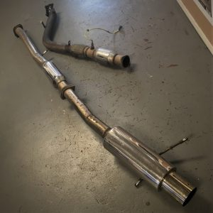 Subaru Impreza GDB V7-V10 – Full 3″ Stainless Steel Exhaust System + Decat