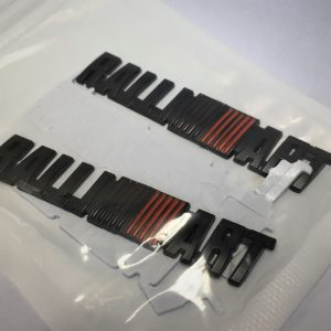 Black Ralliart Adhesive Badges