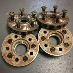 Subaru Impreza GC8 / GDB – 5 x 100 | 15mm Bolt In Wheel Spacers