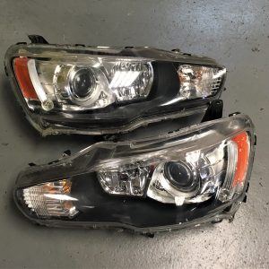 Mitsubishi Evo 10 – OEM Pair Of OEM Headlights