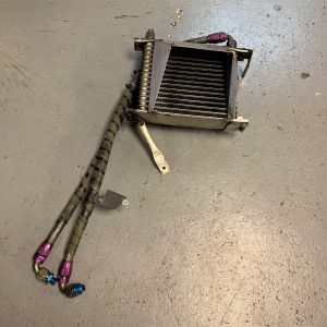 Mitsubishi Evo 4/5 – Aftermarket Engine Oil Cooler