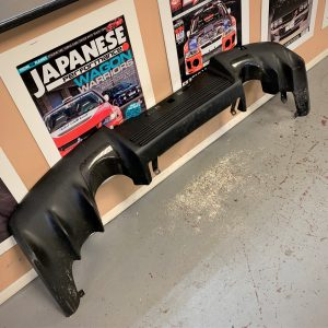Mitsubishi Evo 10 – OEM Rear Bumper Diffuser With Carbon Trims