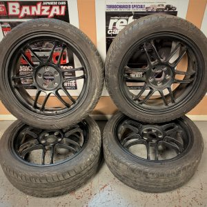 Enkei RPF1 Black Alloy Wheels | 5×100 | 17x7J | ET:48