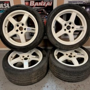 Enkei WRC TARMAC EVO Limited Edition Forged Alloy Wheels | 17x8JJ | 5×114.3 | ET:35