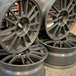 Mitsubishi Evo 8MR BBS Alloy Wheels | 17x8JJ | 5×114.3 | ET:38