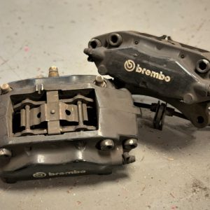 Mitsubishi Evo 10 – Used Rear Brembo 4-Pot Brake Calipers + 356mm Discs (87083010)