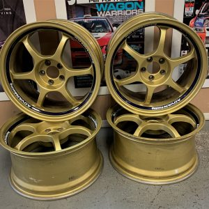 Advan Racing RG Gold Alloy Wheels | 5×100 | 17×8.5JJ |