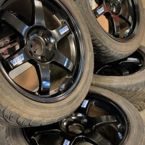 Rays Volk Racing TE37 Gloss Black Alloy Wheels | 5×114.3| 17×8.5JJ | ET:30