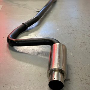 Mitsubishi Evo 4-6 – Aftermarket 3″ Straight Through Exhaust System