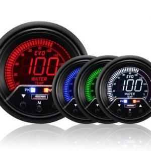 Prosport Performance – NEW 60mm Evo LCD Peak / Warning Water Temperature Gauge (87089993)