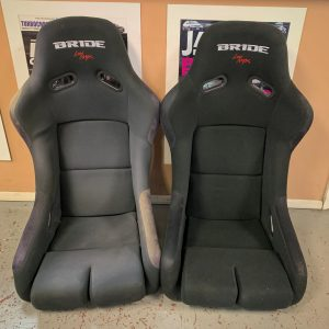 Bride VOIS III Black Racing Bucket Seats
