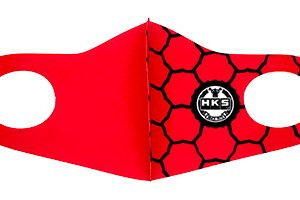 HKS – NEW Graphic Face Mask/ Face Covering (SPF STYLE – RED) (63079095)