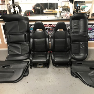 Subaru Impreza GDB – OEM Leather Seats + Door Cards (94012000)